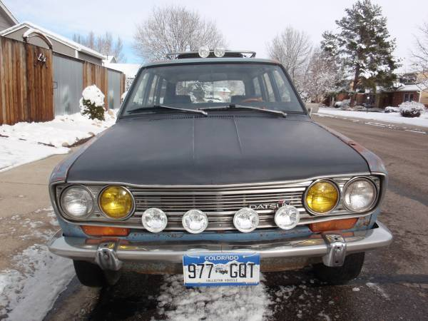 1970 datsun 510 wagon for sale by owner in fort collins colorado. Black Bedroom Furniture Sets. Home Design Ideas