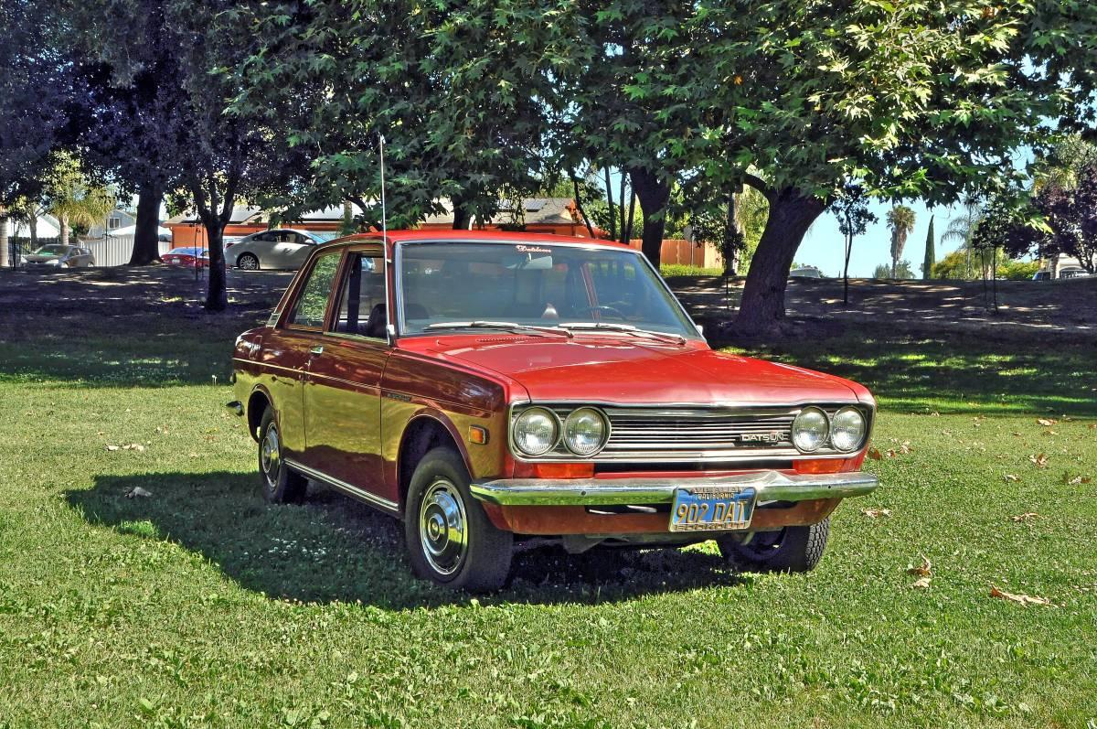 1971 datsun 510 two door sedan for sale by owner in lathrop california. Black Bedroom Furniture Sets. Home Design Ideas
