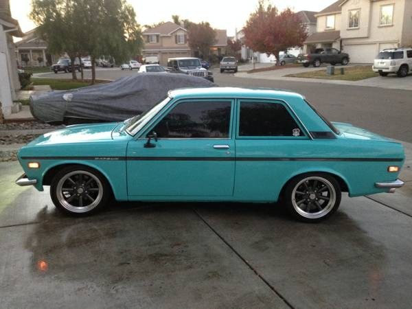 1971 datsun 510 restored two door for sale manteca. Black Bedroom Furniture Sets. Home Design Ideas