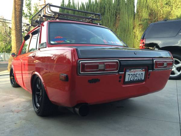 1972 Datsun 510 4 Door For Sale By Owner In North Hills California