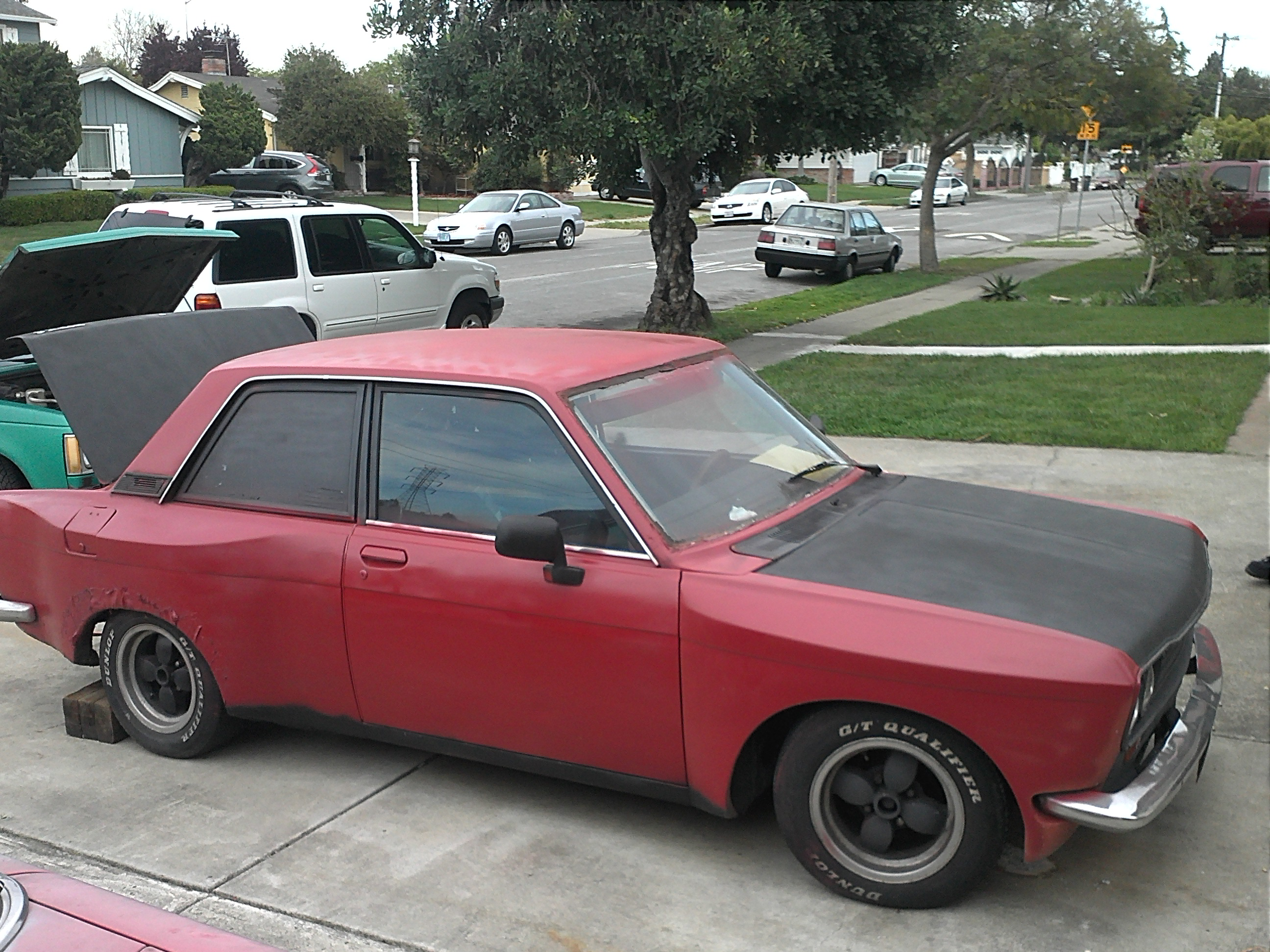 1972 datsun 510 box flare with ka conversion for sale in. Black Bedroom Furniture Sets. Home Design Ideas