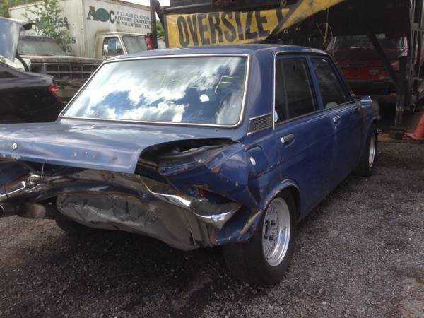 1973 Datsun 510 Four Door For Sale By Owner In Surrey British Columbia