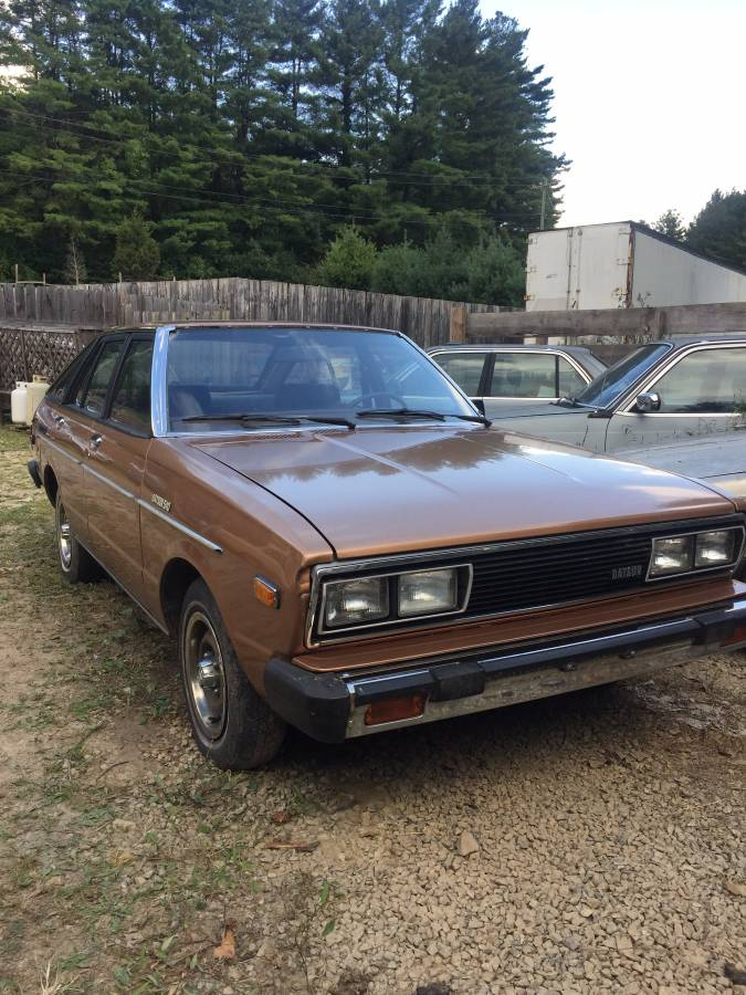 1980 Datsun 510 Sedan For Sale By Owner In Hendersonville North Carolina