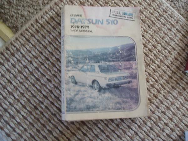 1961 1972 Datsun 510 Manuals For Sale By Owner In West