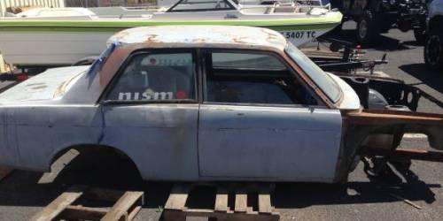 1969 datsun 510 parts car shell for sale in santa maria california. Black Bedroom Furniture Sets. Home Design Ideas