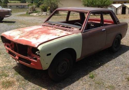 1971 datsun 510 2dr rolling chassis for sale in petaluma. Black Bedroom Furniture Sets. Home Design Ideas