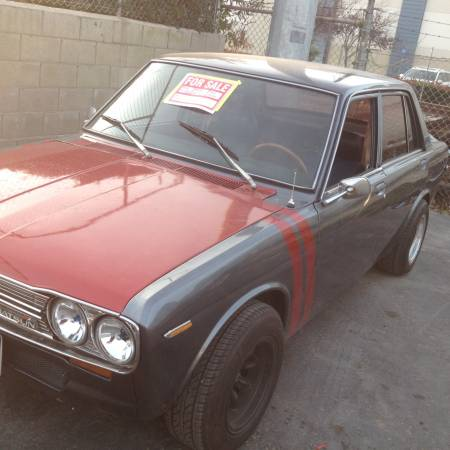 1970 datsun 510 4 doors sedan for sale by owner in san jose california. Black Bedroom Furniture Sets. Home Design Ideas
