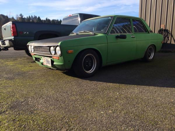 1972 datsun 510 2 door coupe for sale by owner in salem oregon. Black Bedroom Furniture Sets. Home Design Ideas