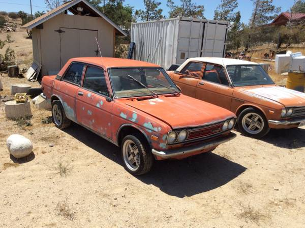 restored 1971 datsun 510 two door for sale in klamath. Black Bedroom Furniture Sets. Home Design Ideas