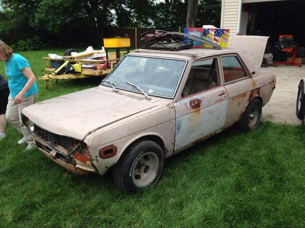 1972 datsun 510 2dr wagon for sale by owner in indianapolis indiana. Black Bedroom Furniture Sets. Home Design Ideas