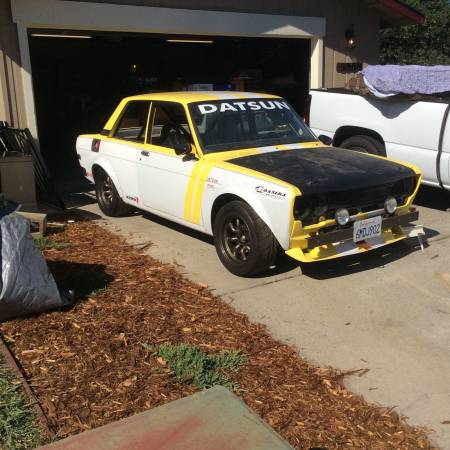 1972 Datsun 510 Race Car For Sale by Owner in Sacramento ...