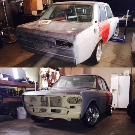 1972 datsun 510 4 door project for sale by owner in wichita kansas. Black Bedroom Furniture Sets. Home Design Ideas