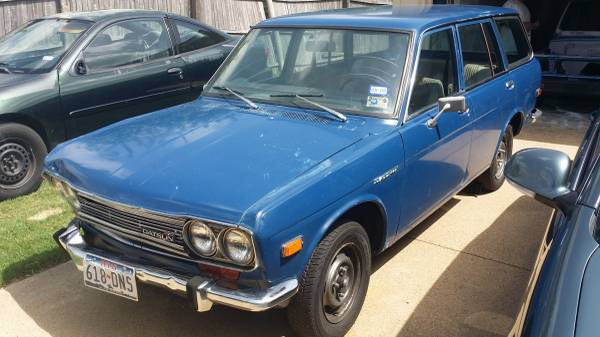 1972 Datsun 510 Wagon For Sale By Owner In Dallas Texas