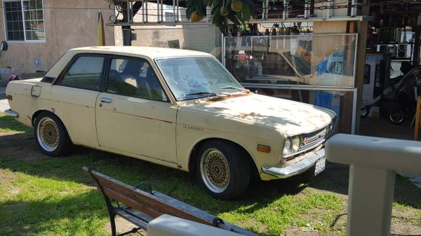 1969 Datsun 510 2 Door Manual For Sale By Owner In Long Beach California