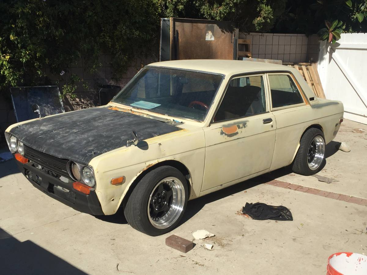 1971 datsun 510 two door for sale by owner in thousand. Black Bedroom Furniture Sets. Home Design Ideas