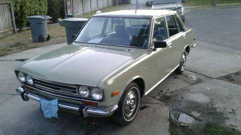 1972 Datsun 510 Four Door For Sale By Owner In Merced California