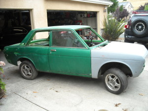 1972 Datsun 510 Two Door Shell For Sale by Owner