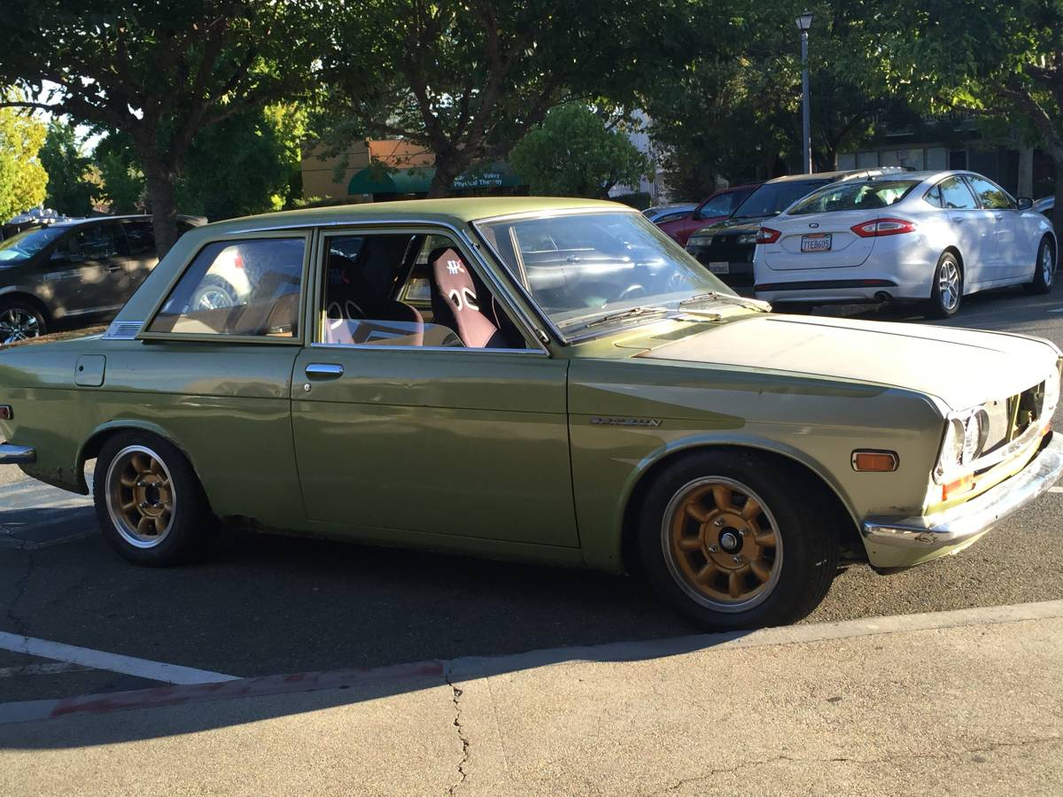 1970 datsun 510 two door for sale by owner in pleasant. Black Bedroom Furniture Sets. Home Design Ideas