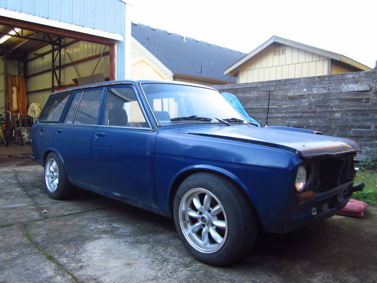 1969 datsun 510 wagon for sale by owner in milwaukie oregon. Black Bedroom Furniture Sets. Home Design Ideas