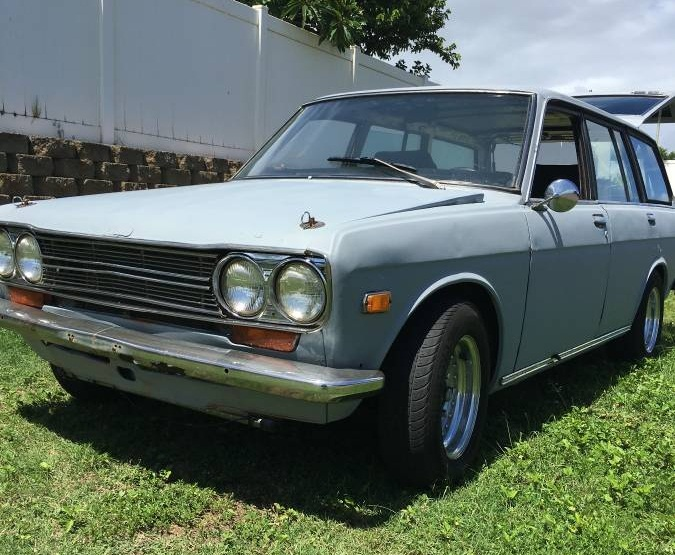 1972 datsun 510 wagon for sale by owner in maui hawaii. Black Bedroom Furniture Sets. Home Design Ideas