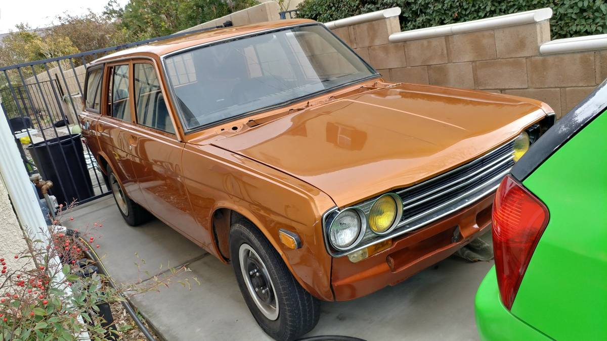 1971 datsun 510 five door station wagon for sale in. Black Bedroom Furniture Sets. Home Design Ideas