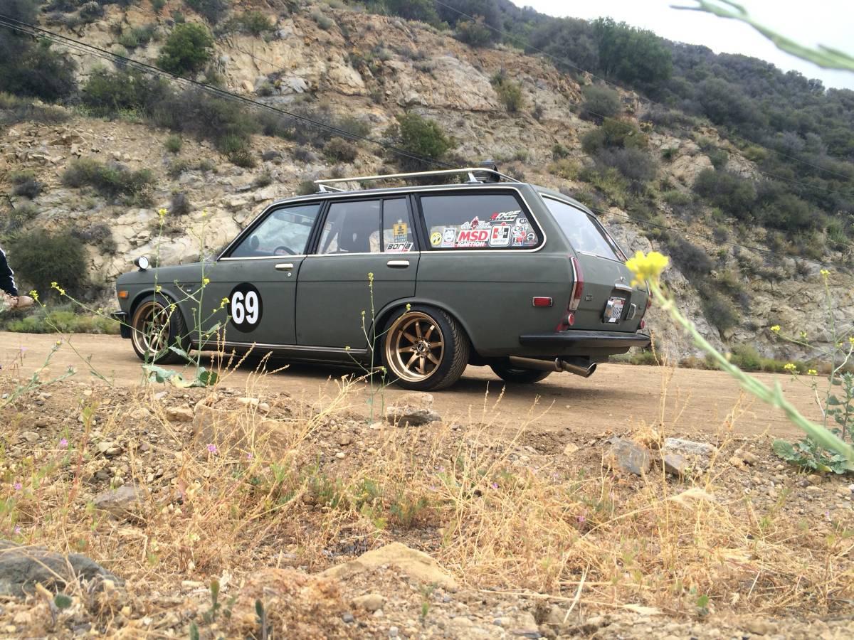 1971 Datsun 510 Wagon K24 SC Swap For Sale in Los Angeles