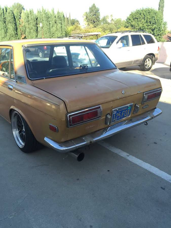Immaculate Restored 1972 Datsun 510 Four Door For Sale Los ...