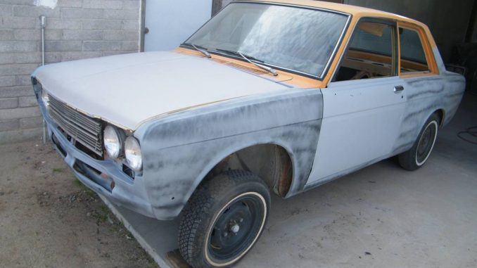 1972 Datsun 510 Two Door Rolling Body & Chassis For Sale ...