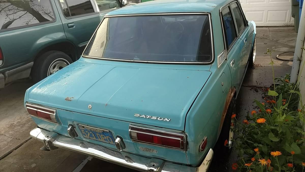 Slo Craigslist: 1971 Datsun 510 Four Door Rebuilt For Sale By Owner In San