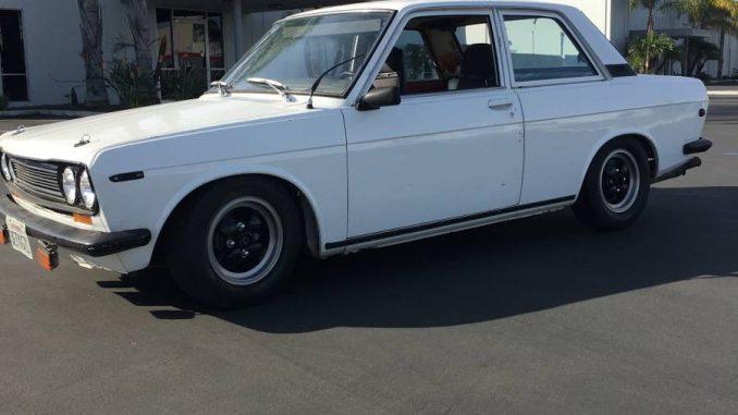 1970 2dr 510 l16 dogleg 5speed orange county california