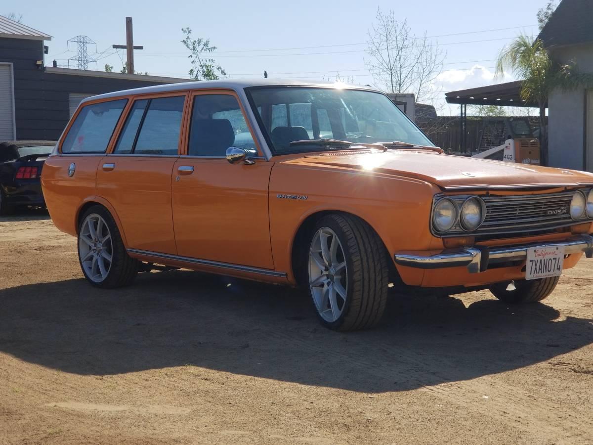 1972 Datsun 510 Wagon w/ 280z 5spd For Sale in Antioch, CA