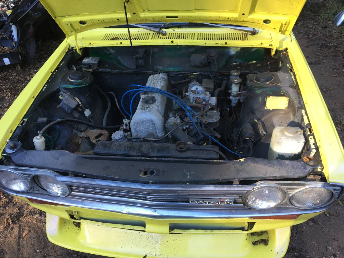 1972 Datsun 510 Yellow 4DR For Sale by Owner in Lake ...