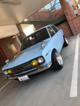 1972 Datsun 510 Four Door Sedan w/ Stock Engine For Sale ...